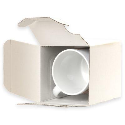 Tasse mit Verpackung
